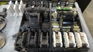 Another View of a Arc Damanged Westinghouse PC32000 Circuit Breaker